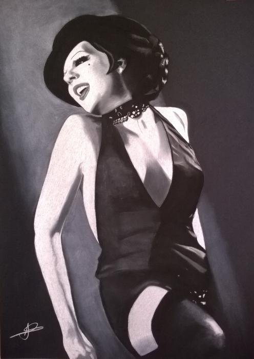 Liza Minnelli by LUDO